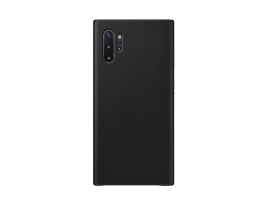 EF-VN975LBE Samsung Kožený Kryt pro N975 Galaxy Note 10+ Black (Pošk. Balení)