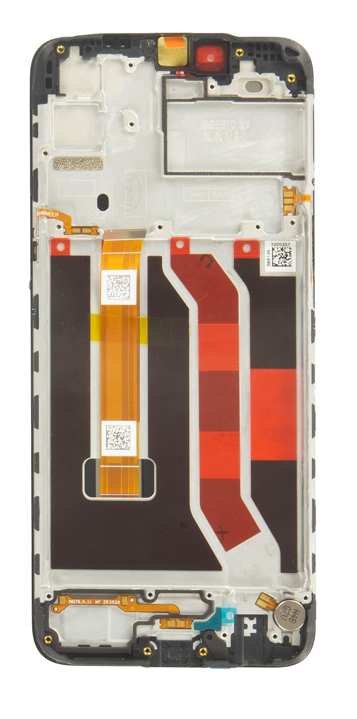 LCD Display + Dotyková Deska + Přední Kryt pro Realme C3/C3i (Service Pack)