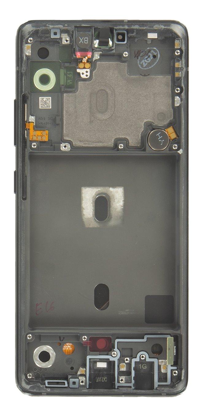 LCD display + Dotyk Samsung A516 Galaxy A51 5G Black (Service Pack)
