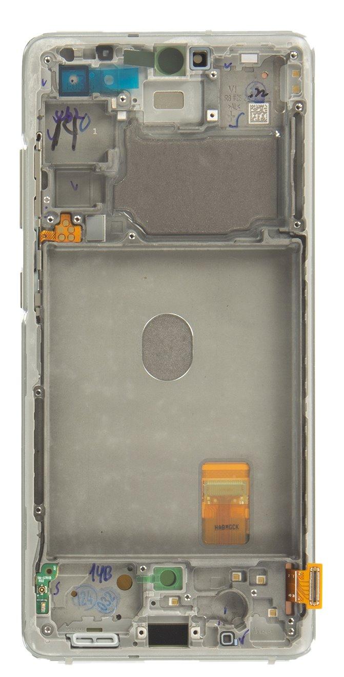 LCD display + Dotyk Samsung G781 5G Galaxy S20 FE Cloud White (Service Pack)