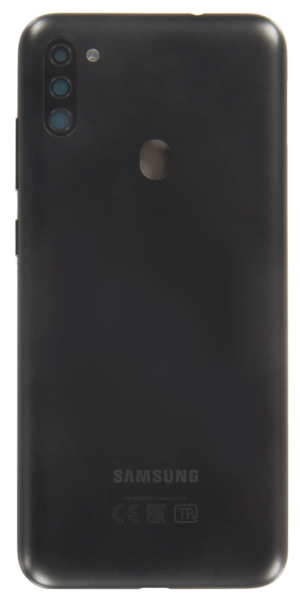 Samsung Galaxy M11 Kryt Baterie Black (Service Pack)