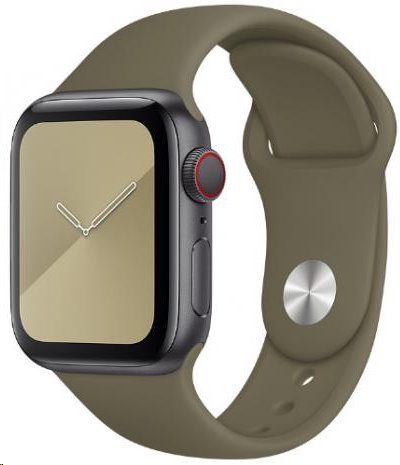 MWUP2ZM/A Apple Watch 44mm Khaki Sport Band 190199260467