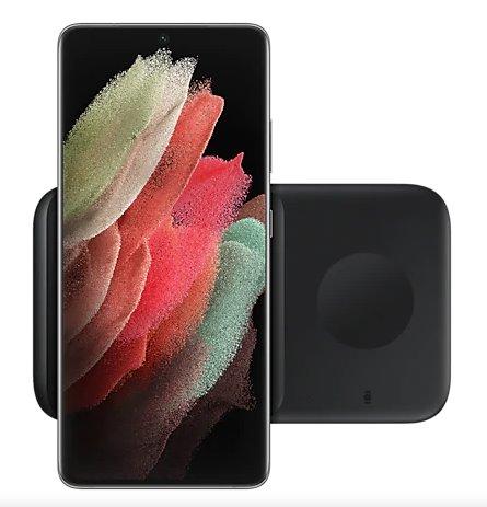 EP-P4300BBE Samsung Duo Pad Podložka pro Bezdrátové Nabíjení Black 8806090962929