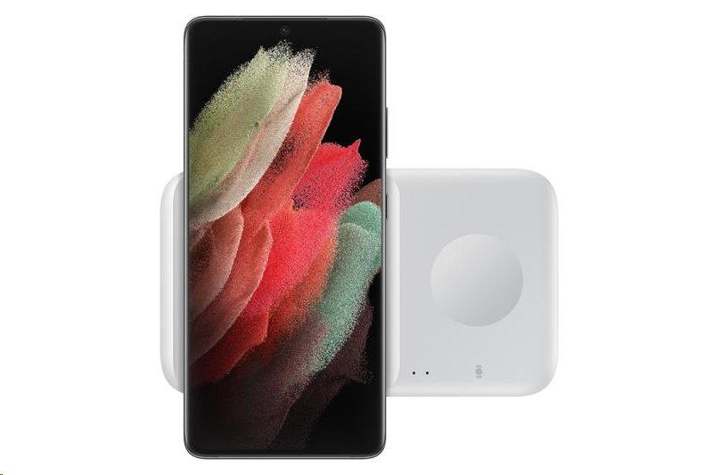 EP-P4300BWE Samsung Duo Pad Podložka pro Bezdrátové Nabíjení White 8806090962912
