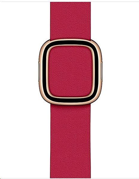 MXP92ZM/A Apple Watch 40mm Raspberry Modern Buckle (Small) 190199566842