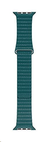 MXPN2ZM/A Apple Watch 44mm Peacock Leather Loop (Large) 190199567689