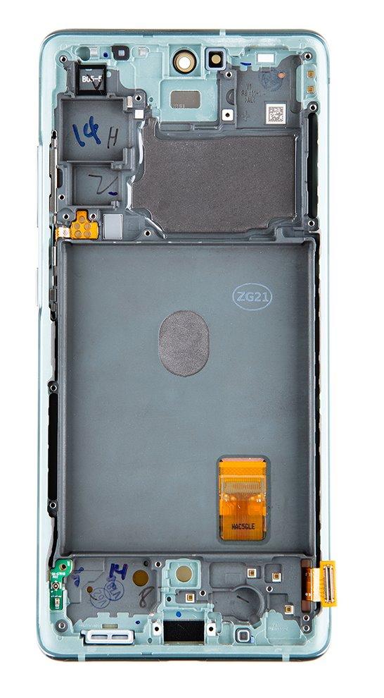 LCD display + Dotyk Samsung G781 5G Galaxy S20 FE Cloud Mint (Service Pack)