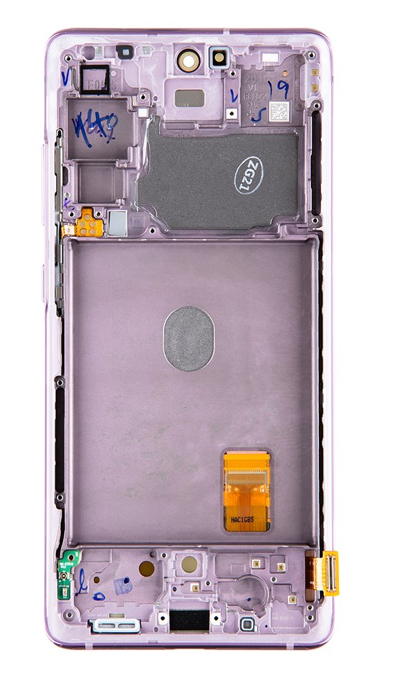 LCD display + Dotyk Samsung G781 5G Galaxy S20 FE Cloud Lavender (Service Pack)