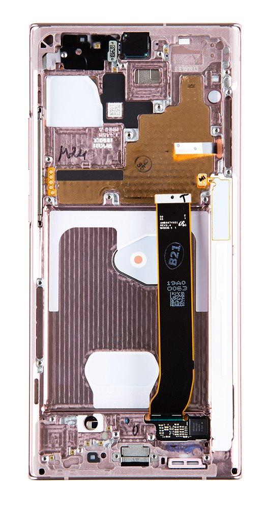 LCD display + Dotyk Samsung N986 Galaxy Note 20 Ultra Mystic Bronze (Service Pack)