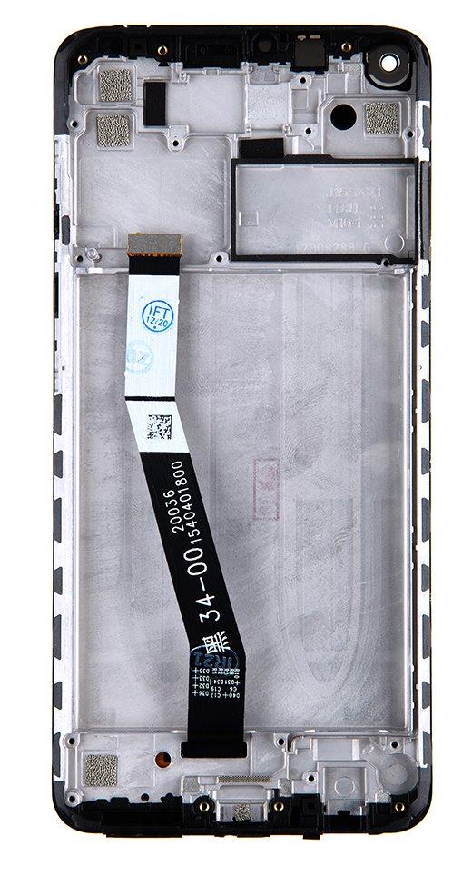 LCD Display + Dotyková Deska + Přední Kryt pro Xiaomi Redmi Note 9 Forest Green