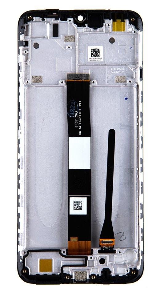 LCD Display + Dotyková Deska + Přední Kryt pro Xiaomi Redmi 9C Midnight Grey