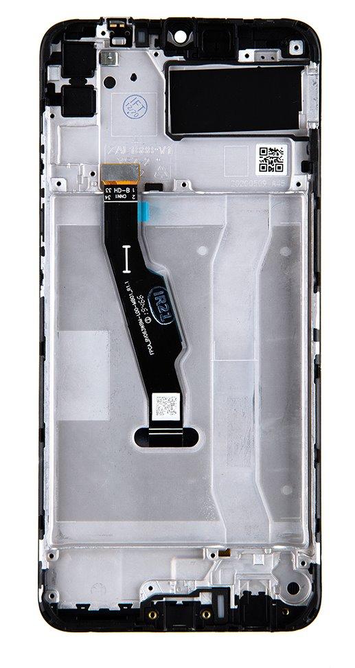 Huawei  Y6p LCD Display + Dotyková Deska + Přední Kryt Midnight Black