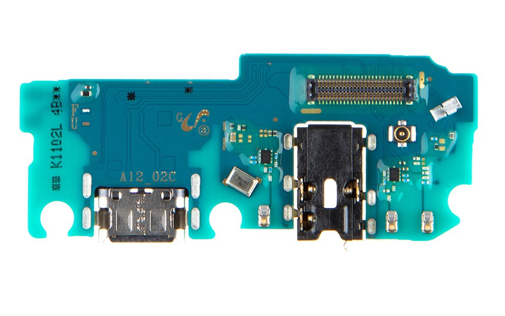 Samsung A125F Galaxy A12 Deska vč. Dobíjecího Konektoru (Service Pack)