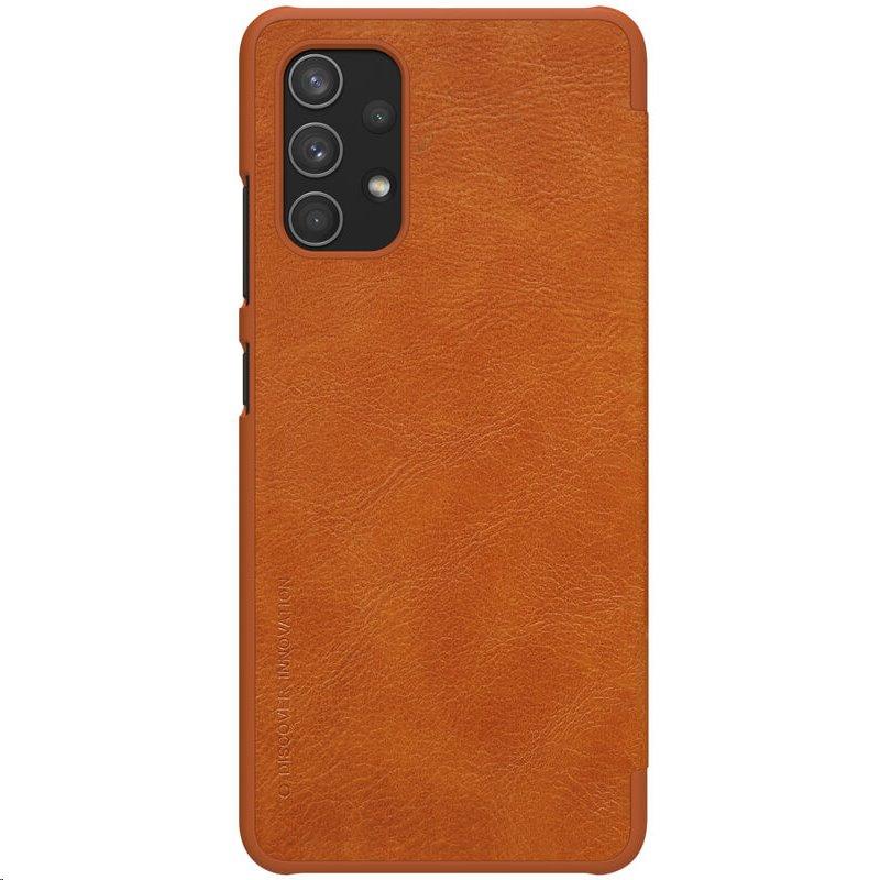 Nillkin Qin Book Pouzdro pro Samsung Galaxy A32 4G Brown 6902048215047