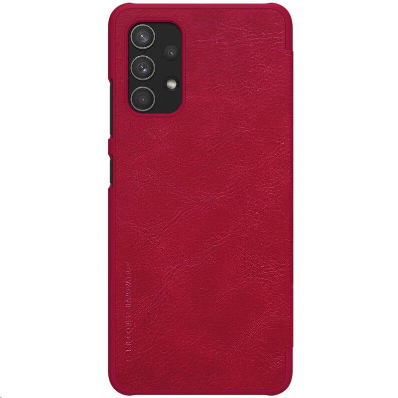 Nillkin Qin Book Pouzdro pro Samsung Galaxy A32 4G Red 6902048215030