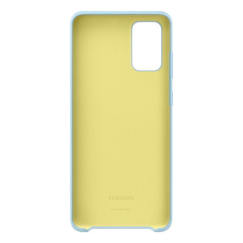 EF-PG985TLE Samsung Silikonový Kryt pro Galaxy S20+ Blue (Pošk. Balení) 8596311150043