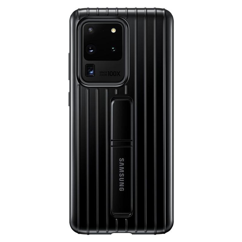 EF-RG988CBE Samsung Standing Kryt pro Galaxy S20 Ultra Black (Pošk. Balení) 8596311150326