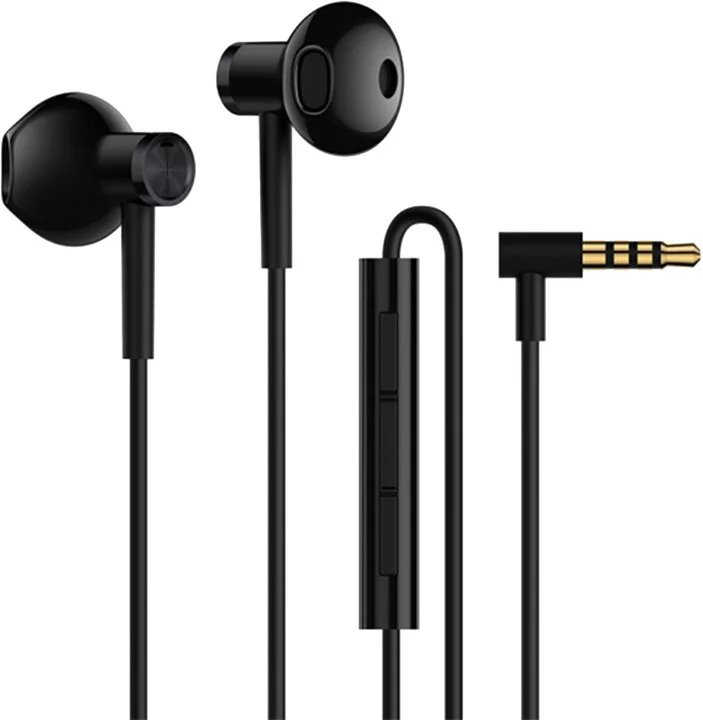 ZBW4407TY Xiaomi Mi Dual Driver Earphones vč. Mikforonu 3.5mm Black (Pošk. Balení) 8596311150388