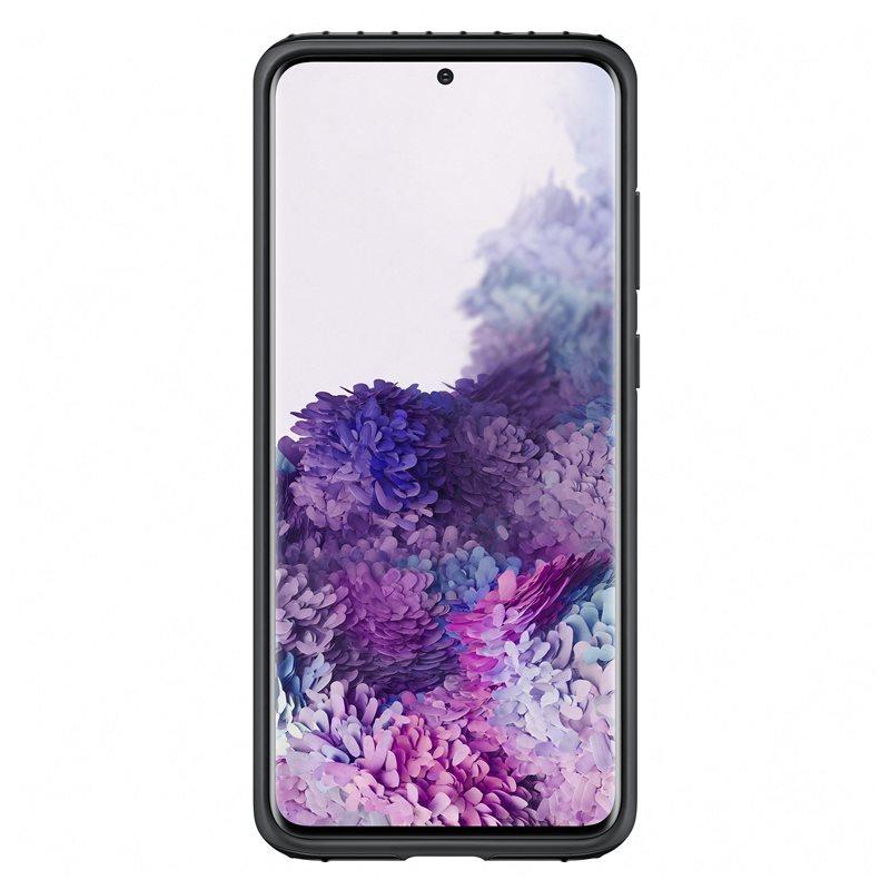 EF-PG985TBE Samsung Silikonový Kryt pro Galaxy S20+ Black (Pošk. Balení) 8596311152566