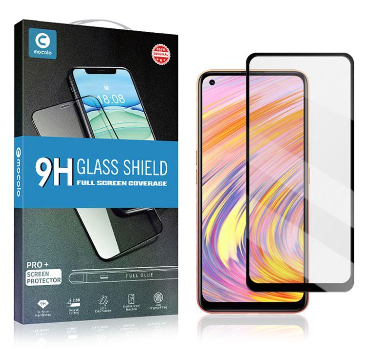 Mocolo 5D Tvrzené Sklo Black pro Samsung Galaxy S21 FE 5G 8596311157295