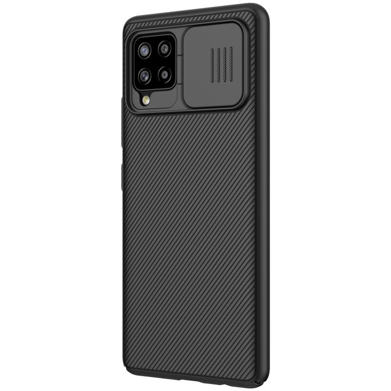 Nillkin CamShield Zadní Kryt pro Samsung Galaxy A42 5G Black 6902048206939