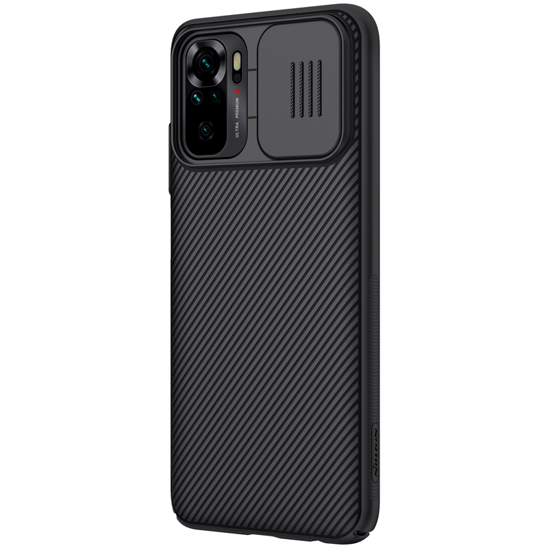 Nillkin CamShield Zadní Kryt pro Xiaomi Redmi Note 10 4G/10s Black 6902048215696