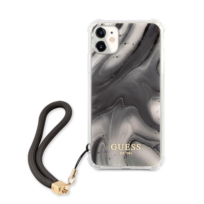 GUHCN61KSMAGR Guess TPU Marble Zadní Kryt pro iPhone 11 Grey 3666339006006