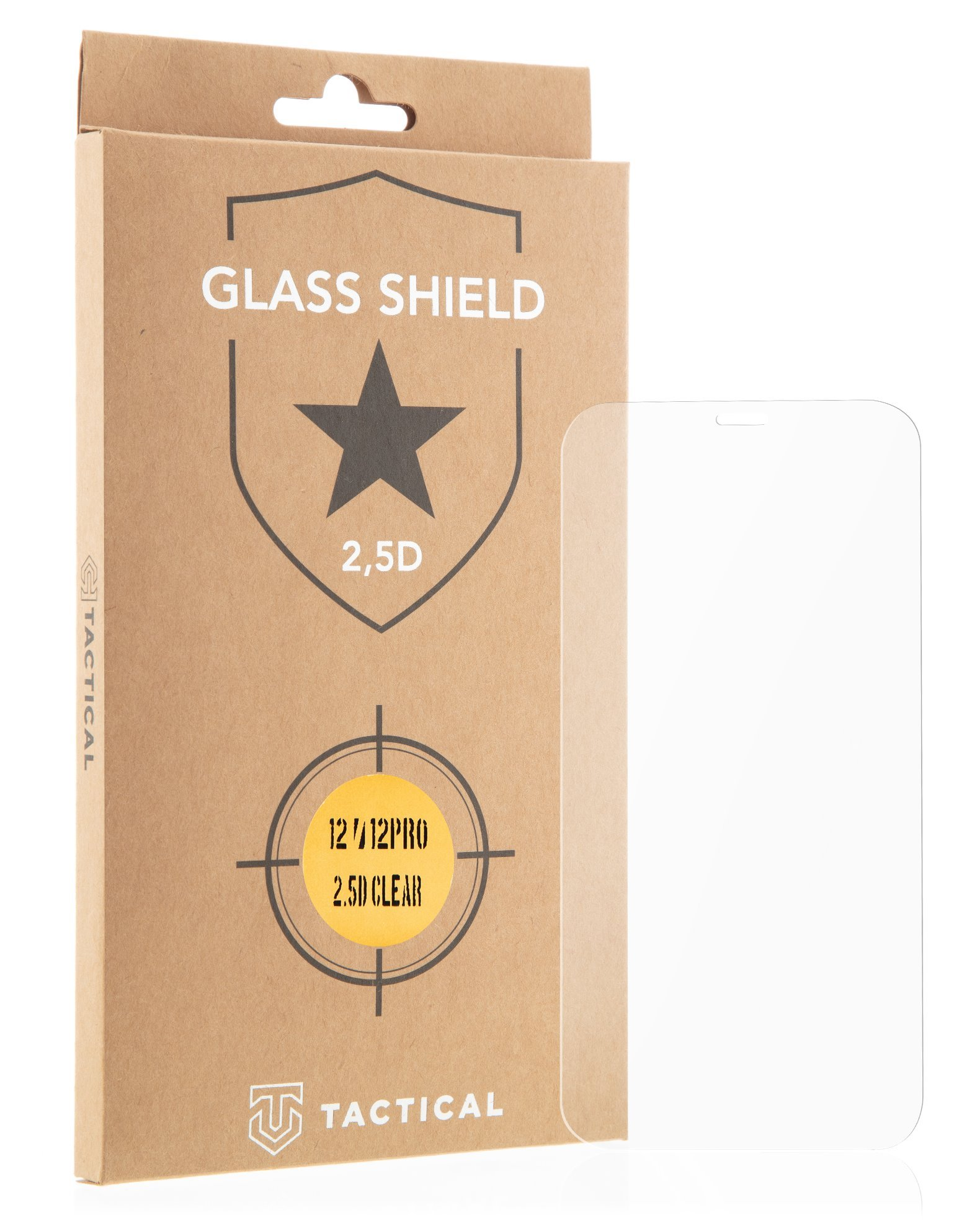 Tactical Glass Shield 2.5D sklo pro Apple iPhone 13/13 Pro Clear 8596311155420