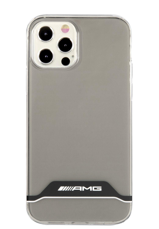AMHCP12MTCBW AMG PC/TPU Horizontal Stripes Kryt pro iPhone 12/12 Pro 6.1 Black 3666339014230