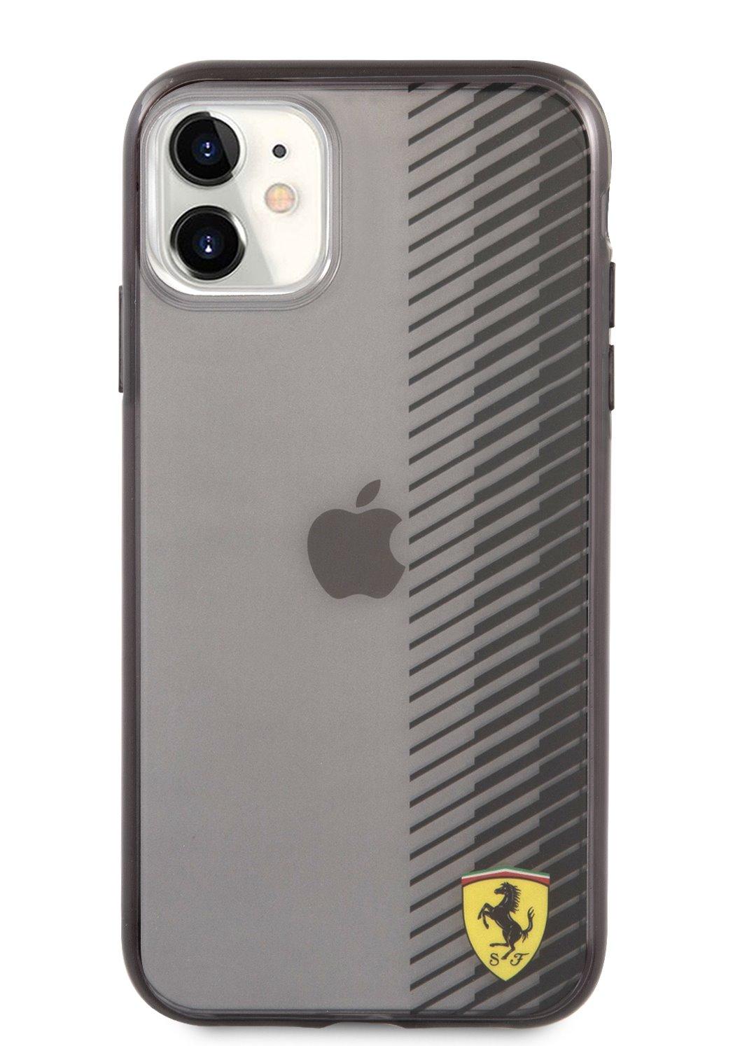 FEHCN61UYEK Ferrari On Track Gradient Kryt pro iPhone 11 Black 3666339017064