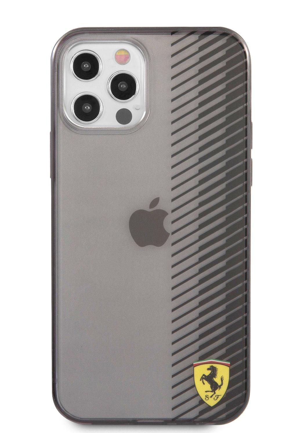 FEHCP12MUYEK Ferrari On Track Gradient Kryt pro iPhone 12/12 Pro 6.1 Black 3666339017033