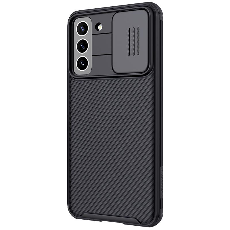 Nillkin CamShield Pro Zadní Kryt pro Samsung Galaxy S21 FE Black 6902048221222