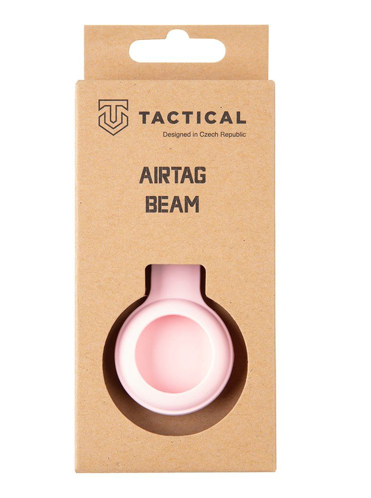 Tactical Airtag Beam Silicone Pink 8596311151996