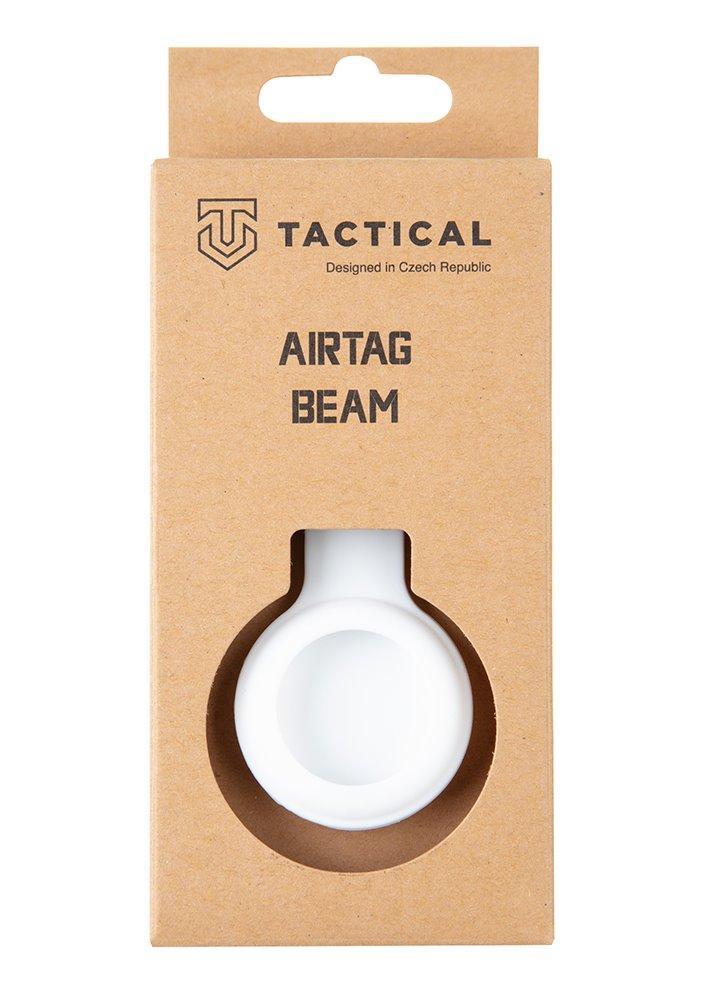 Tactical Airtag Beam Silicone White 8596311151989