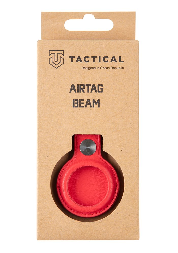 Tactical Airtag Beam Leather Red 8596311151958