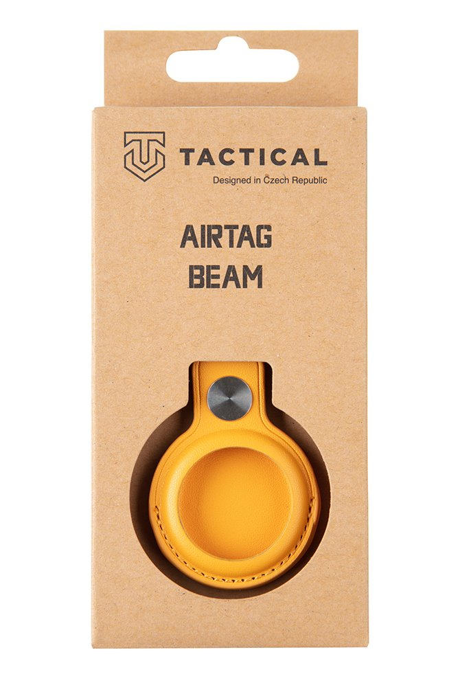 Tactical Airtag Beam Leather Yellow 8596311151941