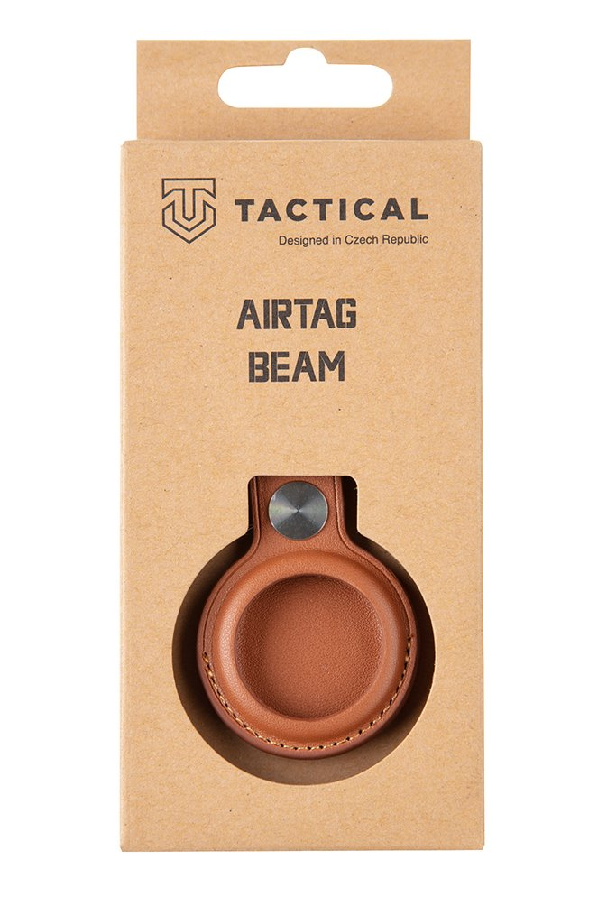 Tactical Airtag Beam Leather Brown 8596311151927