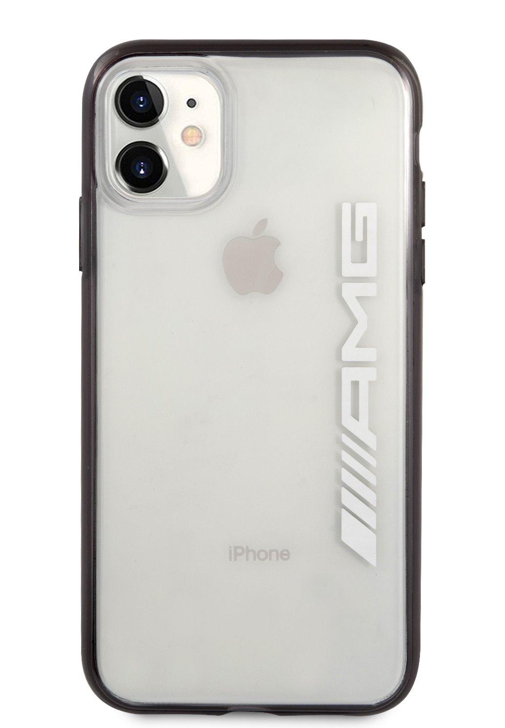AMHCN61AESLBK AMG Metallic Black Edges Kryt pro iPhone 11 Transparent 3666339014445
