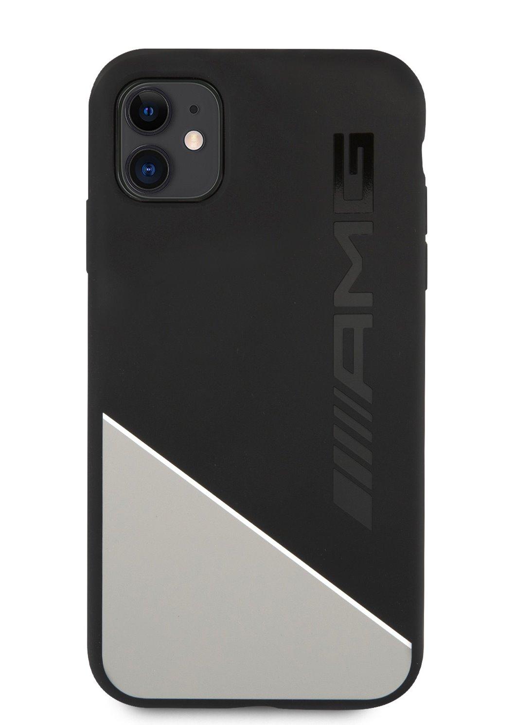 AMHCN61WGDBK AMG Liquid Silicone Two Tones Kryt pro iPhone 11 Grey 3700740514382