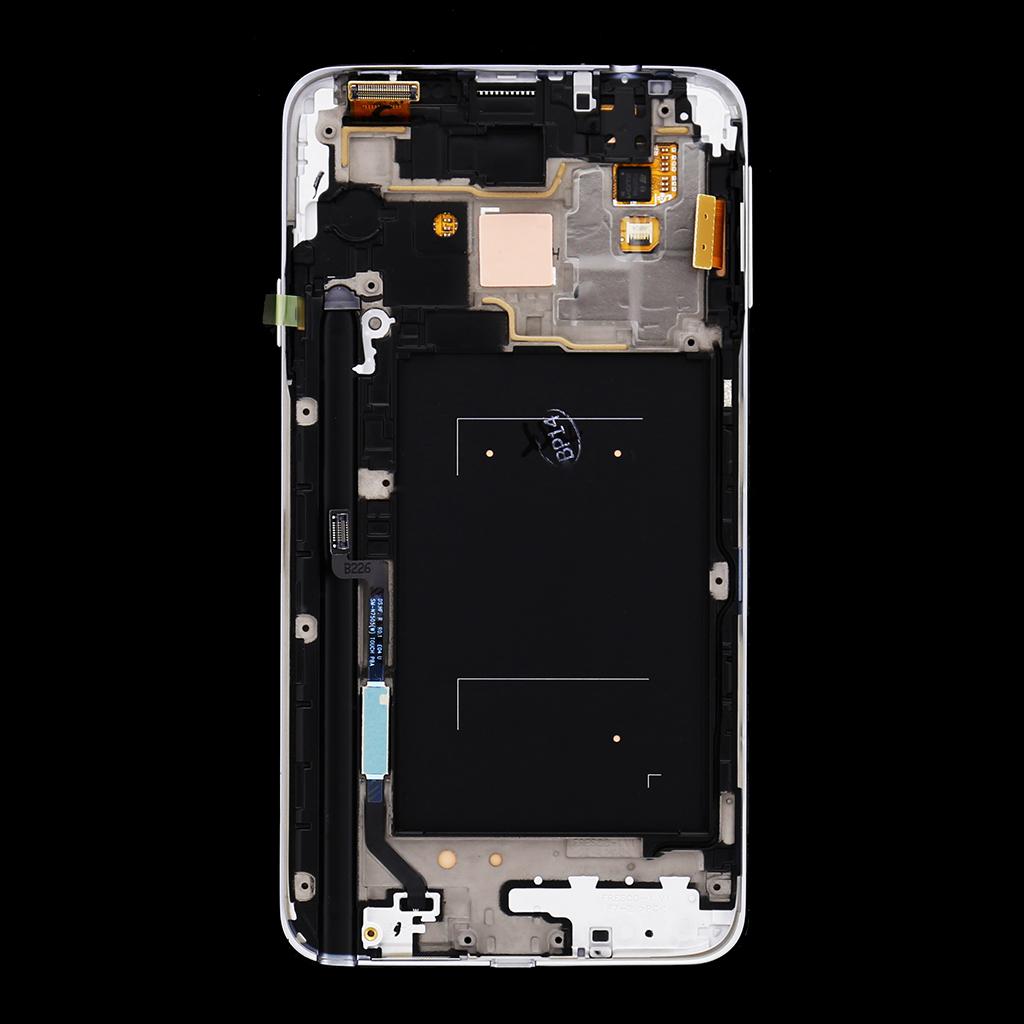 LCD display + Dotyk + Přední kryt Samsung N7505 Galaxy Note3 Neo White (Service Pack)