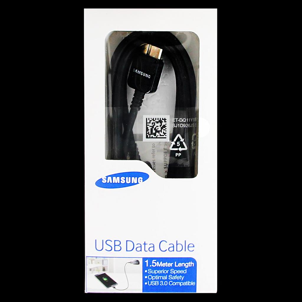 ET-DQ11Y1B Samsung Galaxy Note3 Datový Kabel Black 1,5m (Bulk)