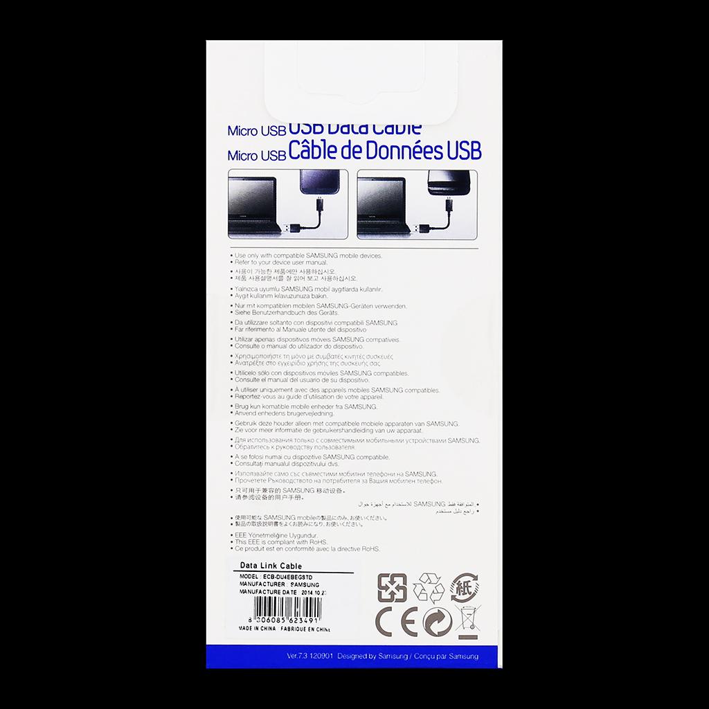 ECB-DU4EBE Samsung datový kabel microUSB Black
