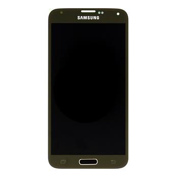 LCD display + Dotyk Samsung G900 Galaxy S5 Gold (Service Pack)