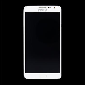 LCD display + Dotyk + Přední kryt Samsung N7505 Galaxy Note3 Neo White (Service Pack)