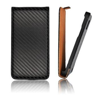 ForCell Slim Flip Pouzdro Carbon pro iPhone 6 4.7