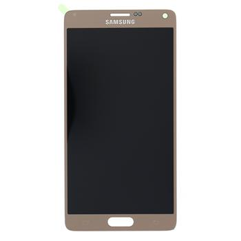 LCD display + Dotyk Samsung N910F Galaxy Note4 Gold (Service Pack)