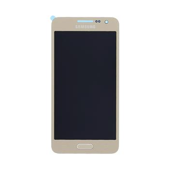 LCD display + Dotyk Samsung A300F Galaxy A3 Gold (Service Pack)