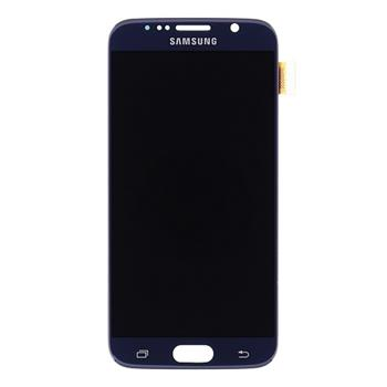 LCD display + Dotyk Samsung G920 Galaxy S6 Black (Service Pack)