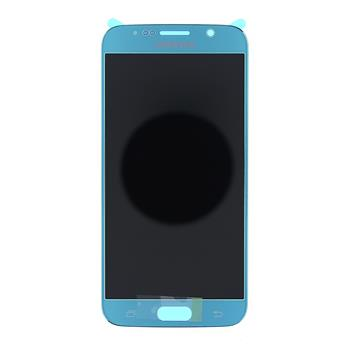 LCD display + Dotyk Samsung G920 Galaxy S6 Blue (Service Pack)