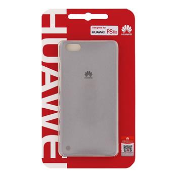Huawei Original Protective Pouzdro 0.8mm Light Grey for P8 Lite (EU Blister)